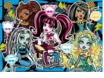 PUZZLE 250EL. MONSTER HIGH BE YOURSELF, BE A MONSTER