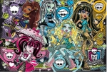 PUZZLE 200EL. MONSTER HIGH JEWELS - FASHIONABLY FIERCE