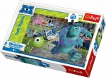 PUZZLE 60 POTWORY: MIKE I SULLY