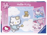 Ravensburger Puzzle 3x49 el. Hello Kitty