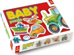 PUZZLE BABY - POJAZDY